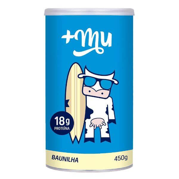 Whey Concentrado Baunilha 450gr +Mu