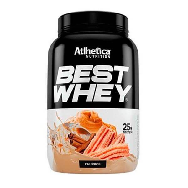 Whey Protein Concentrado Sabor Churros 900gr - Best Whey Atlhetica Nutrition