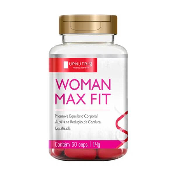 Woman Max Fit 60 Cápsulas De 1000mg - Upnutri
