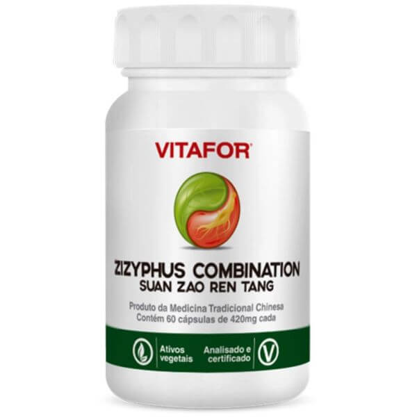 Zizyphus Combination (suan Zao Ren Tang) 60 Caps - Vitafor
