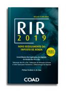 NOVO REGULAMENTO DO IMPOSTO DE RENDA - RIR 2019