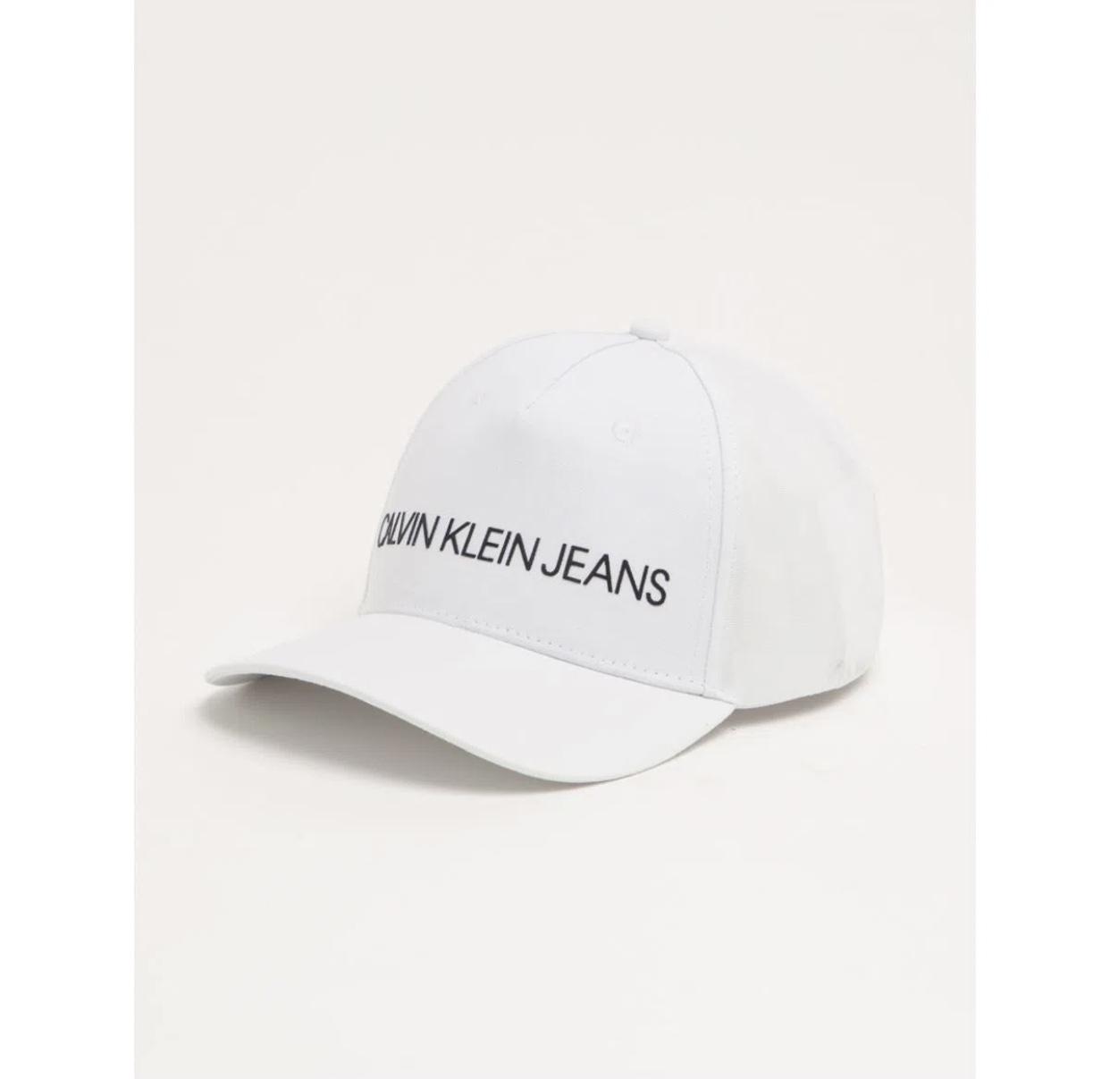 Boné Branco Calvin Klein
