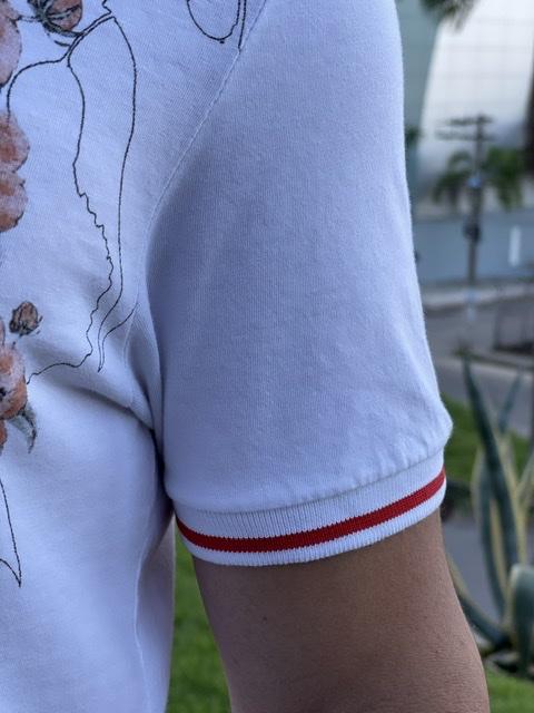 Gola Polo Calvin Klein Estampada