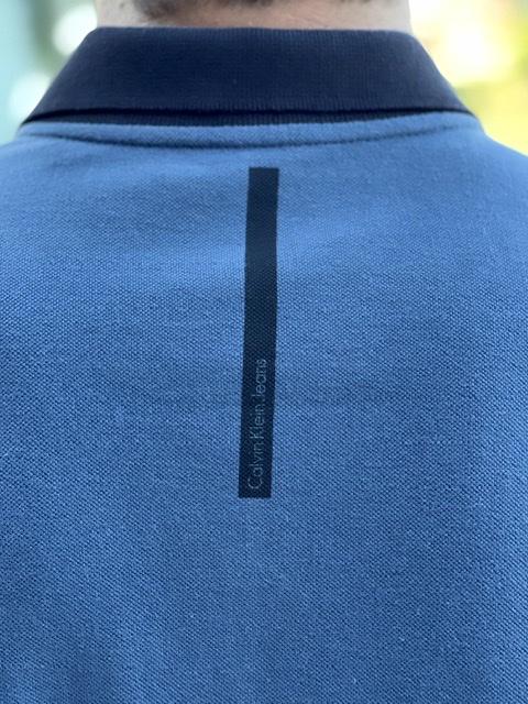 Gola Polo Calvin Klein Marinho