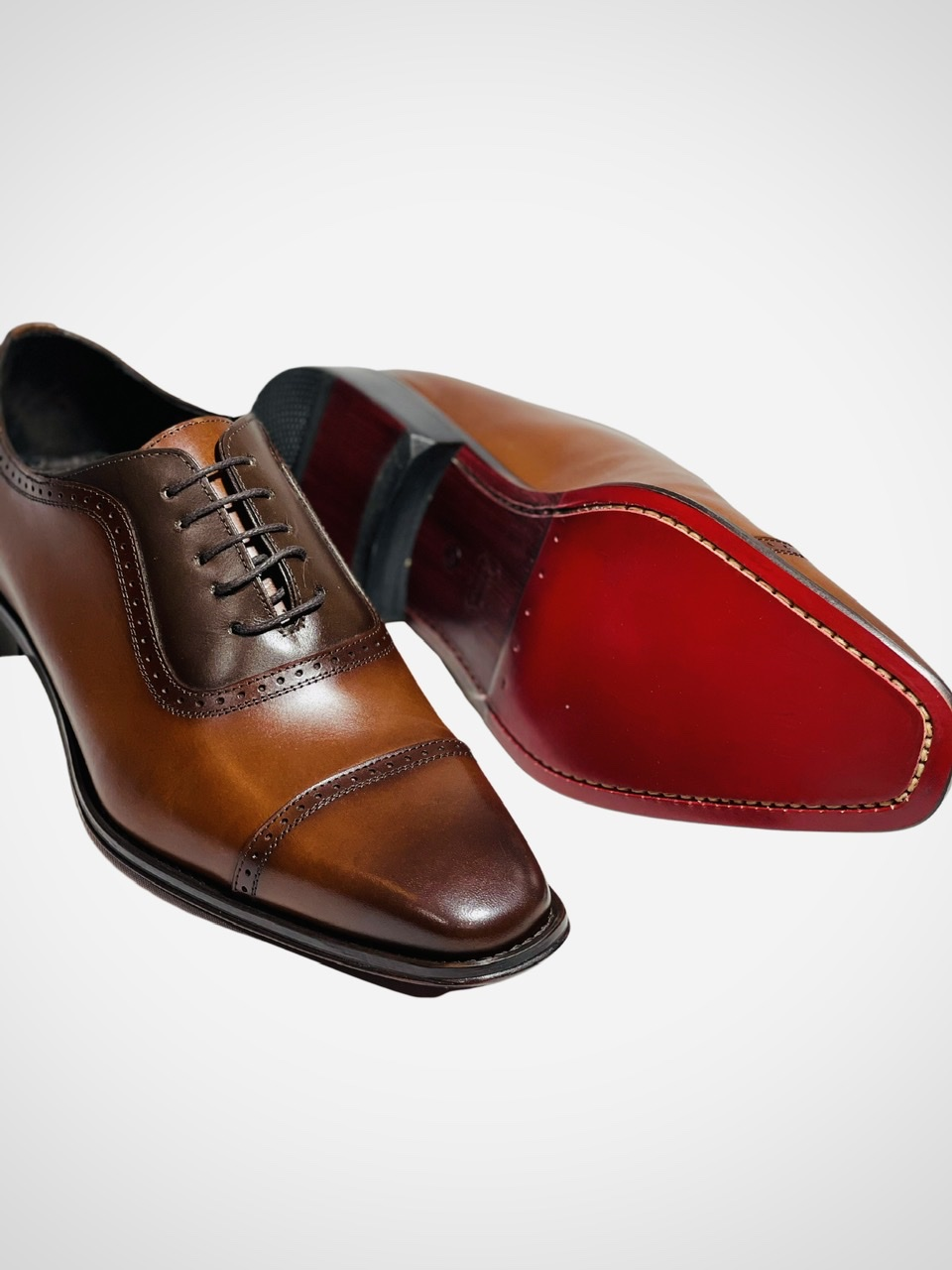 Sapato Oxford Couro Whisky