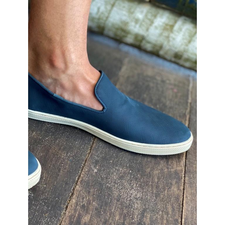 Slip on azul