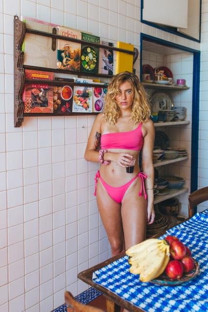 Conjunto Lorena rosa