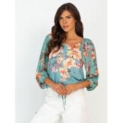 Blusa Floral Viscose Objeto Brasil  102192