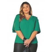 Blusa Plus Size Lisamour Objeto Brasil  200628