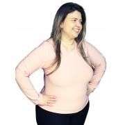 Blusa Termica Peluciada Plus Size  678018