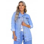 Jaqueta Feminina Jeans Max Revanche  51499