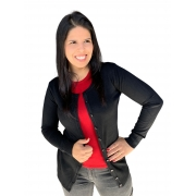 Cardigan Feminino Botão Facinelli  650724