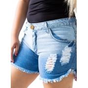Shorts Rasgadinho Plus Size  Anticorpus  13405