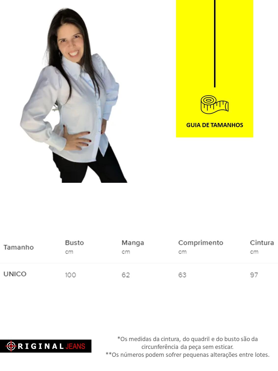 Blusa Camisa Original  1027