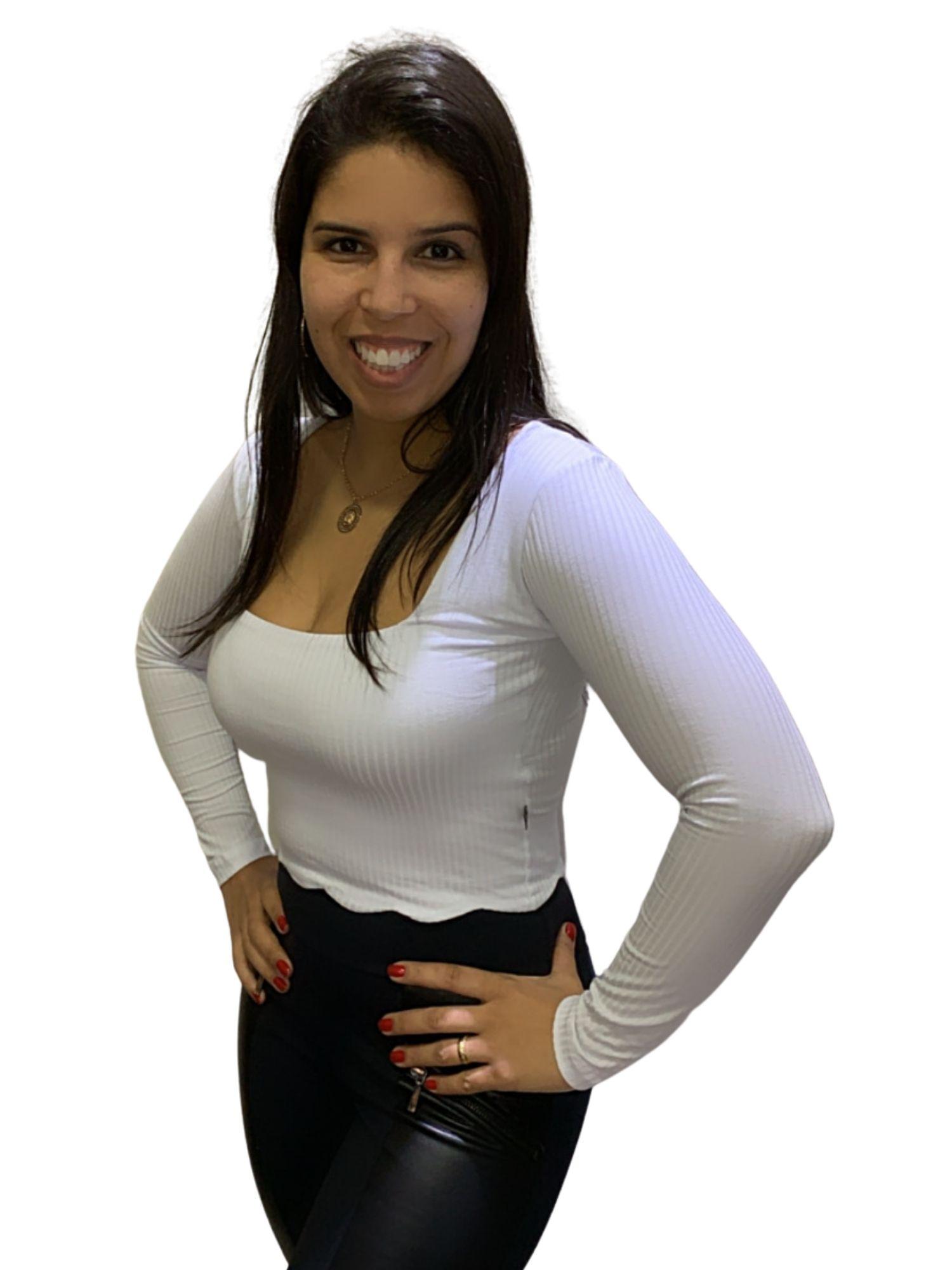 Blusa Feminina Cropped Ribana Revanche  97907