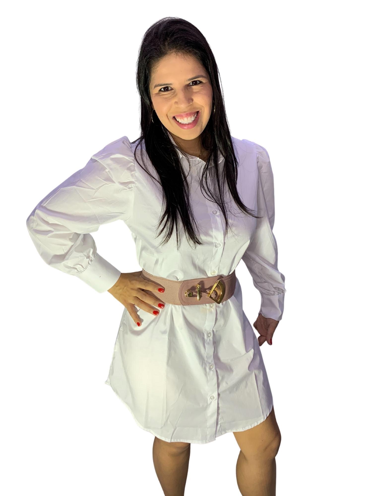 Blusa Maxi Camisa Feminina Princesa Osse 80709