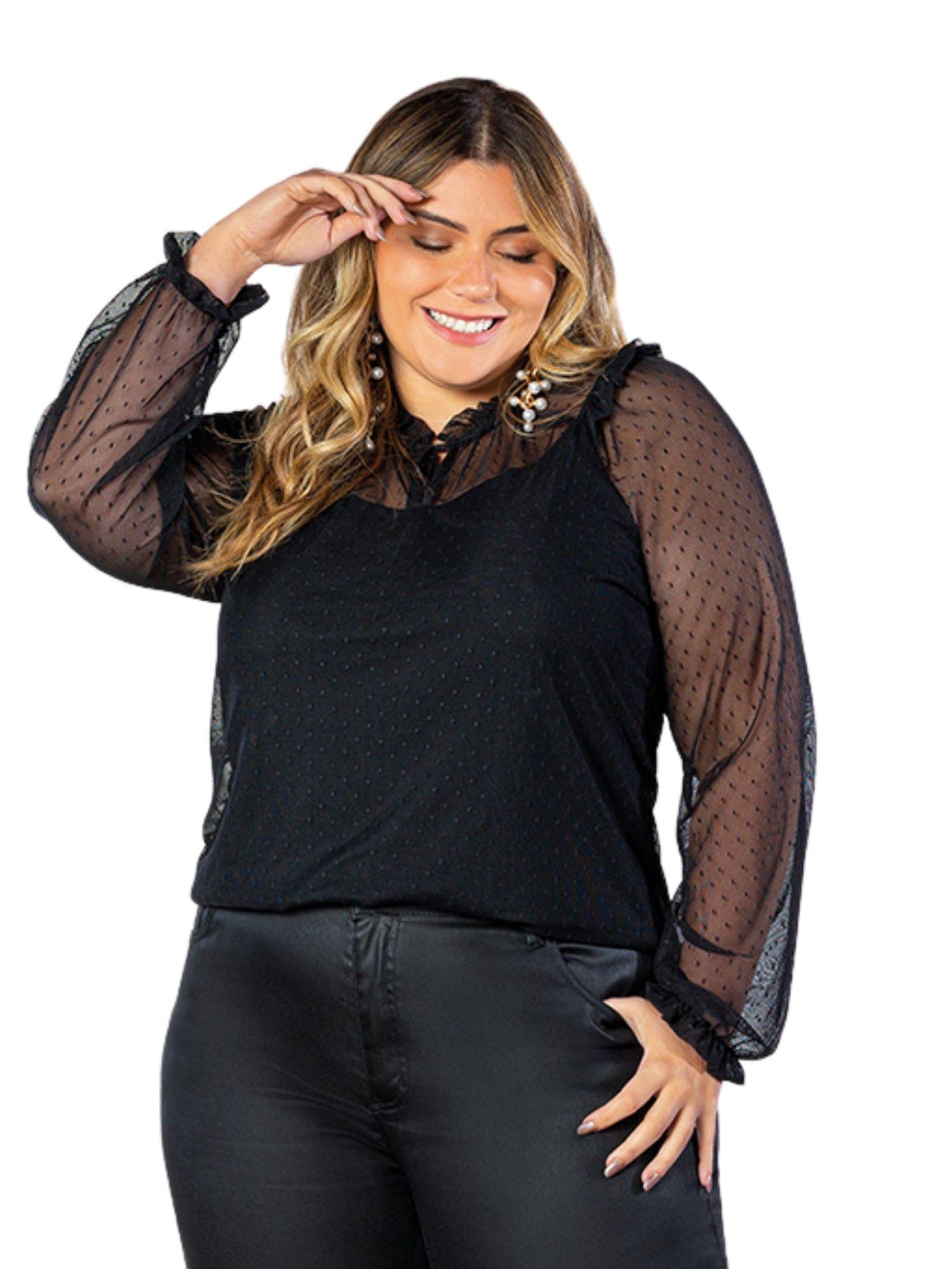 Blusa Plus Size Objeto Brasil  200633