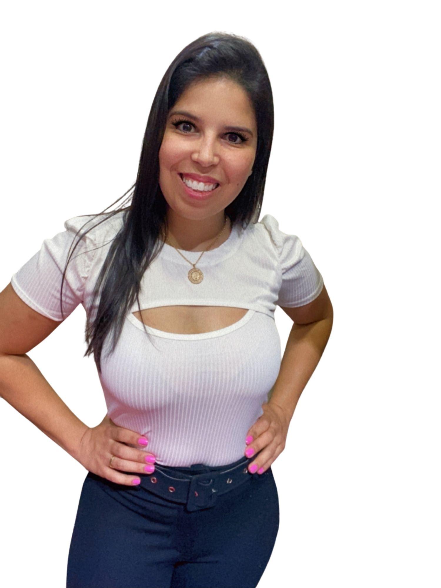 Blusa Princesa Busto Vazado Original  1007