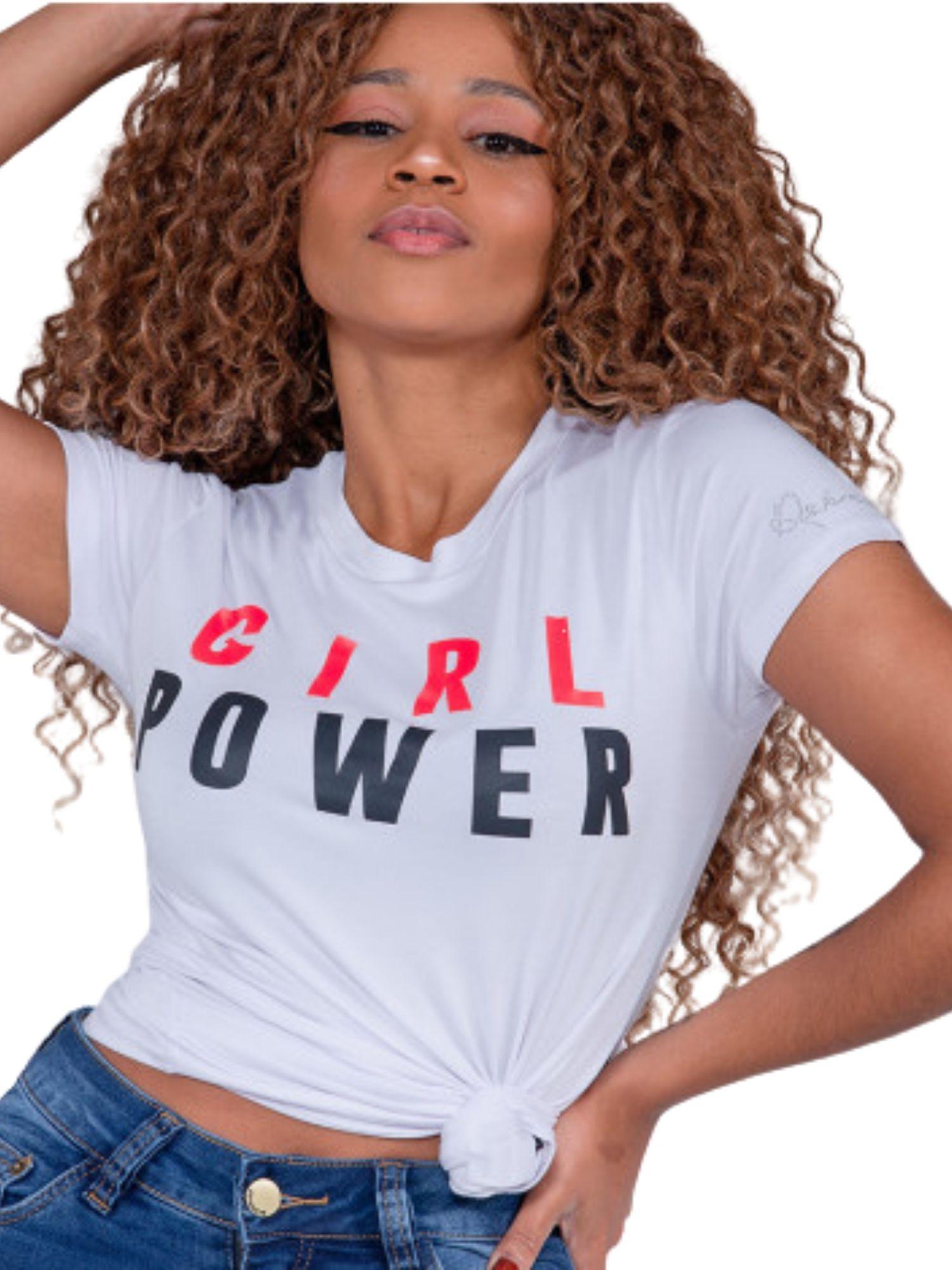Blusa T Shirt Girl Power Revanche  97402