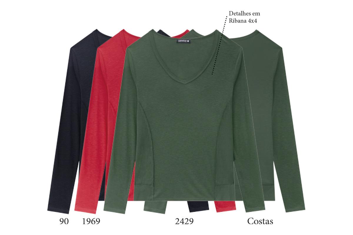 Blusas Plus Size Flamê  200575