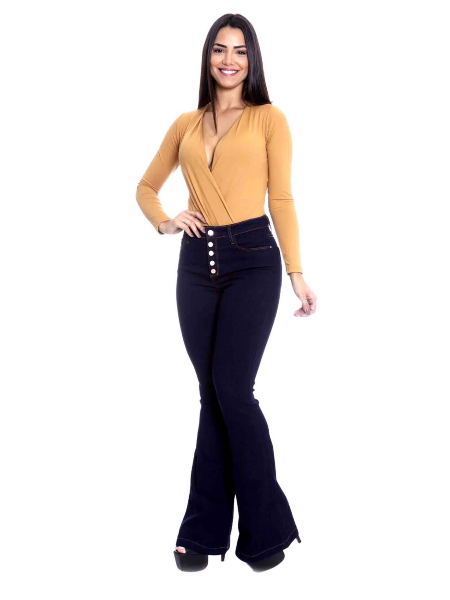 Calça Feminina Flare Tnw Jeans 43430
