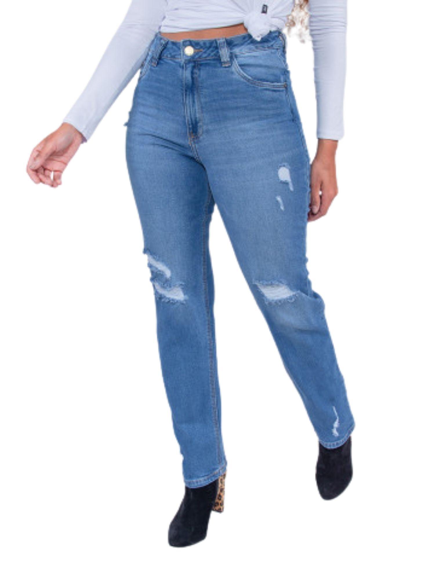 Calça Feminina Mom Jeans  Revanche  29845