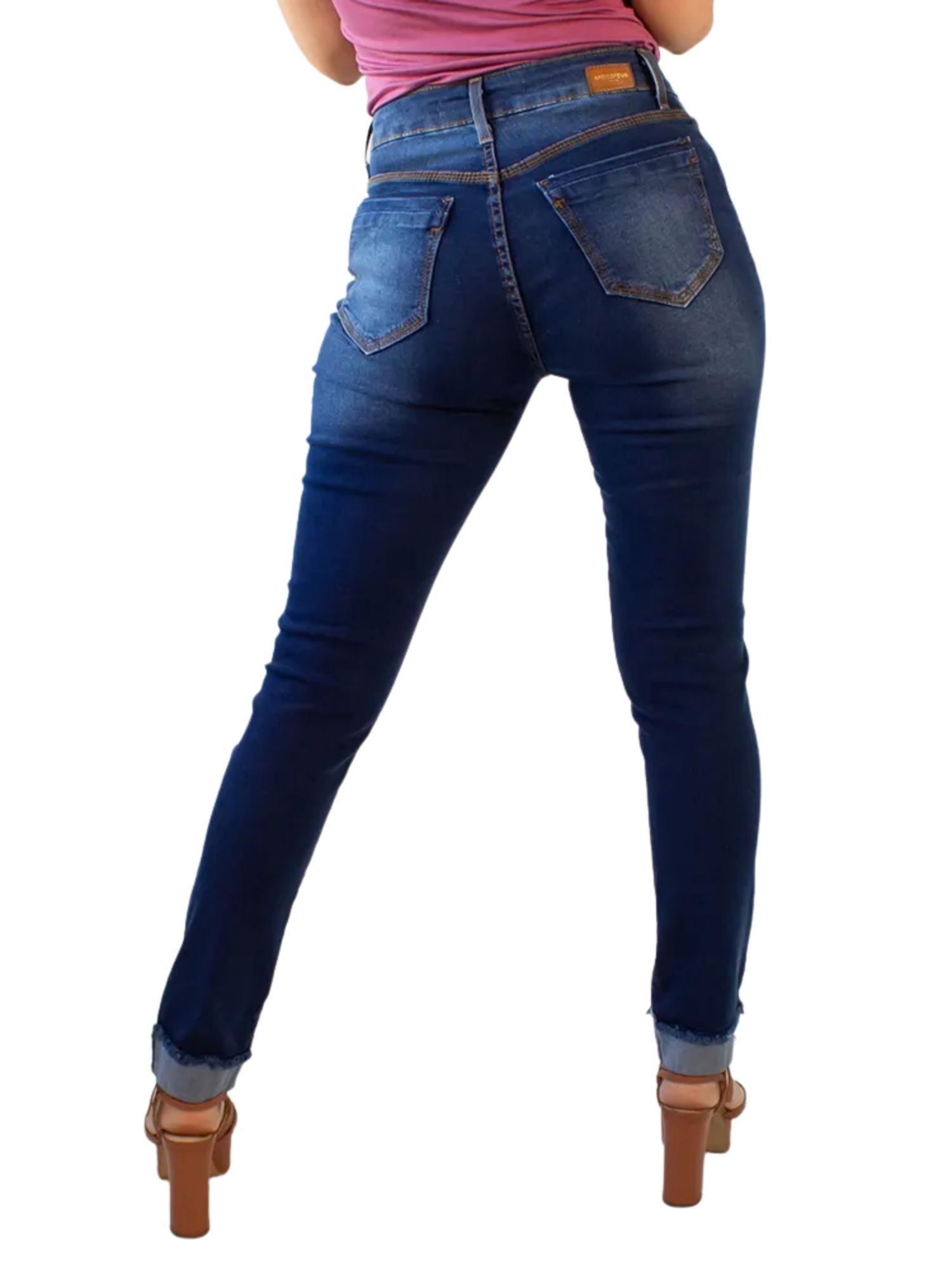 Calça Feminina Skinny Cós Alto Anticorpus  13499