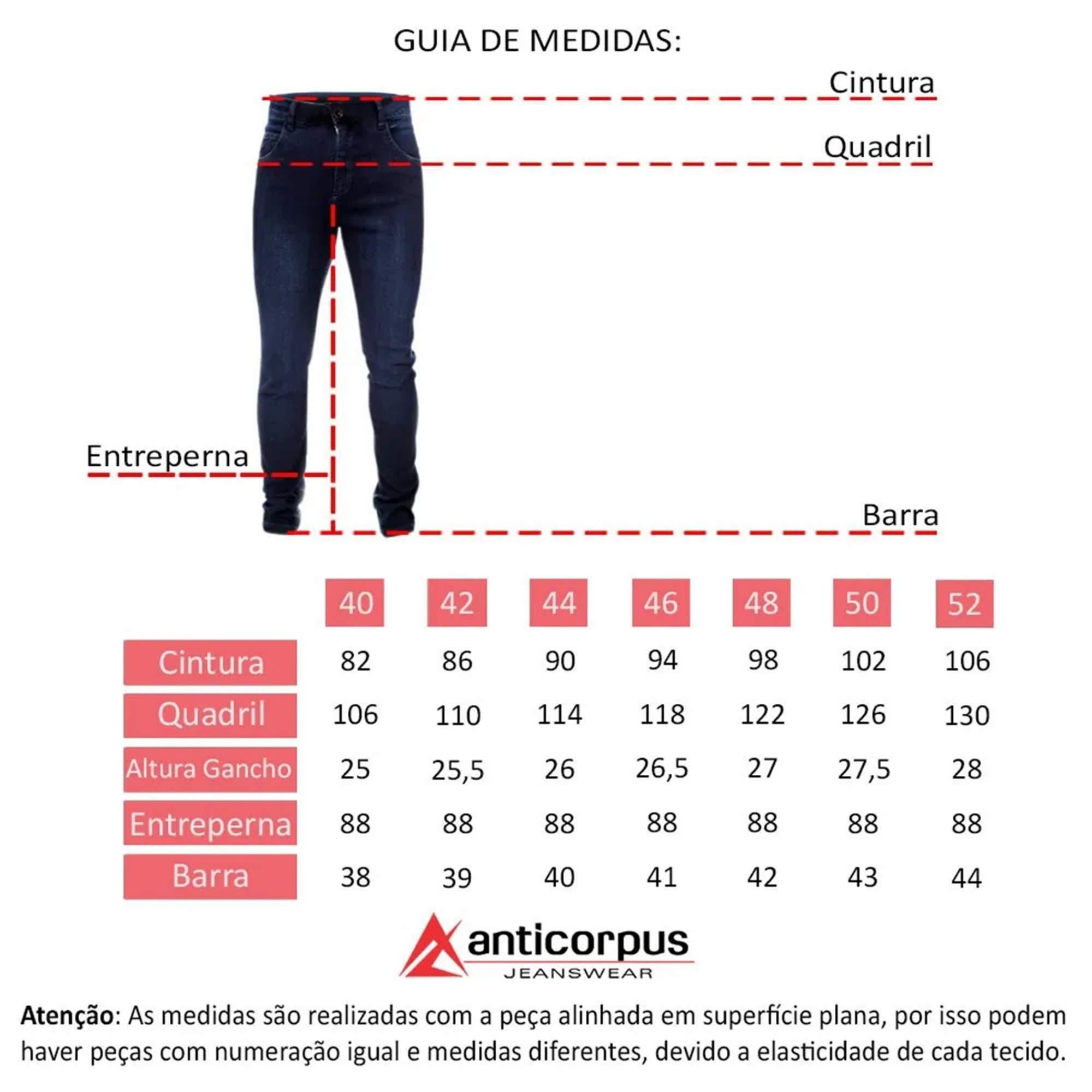 Calça Masculina Slim Anticorpus 22357