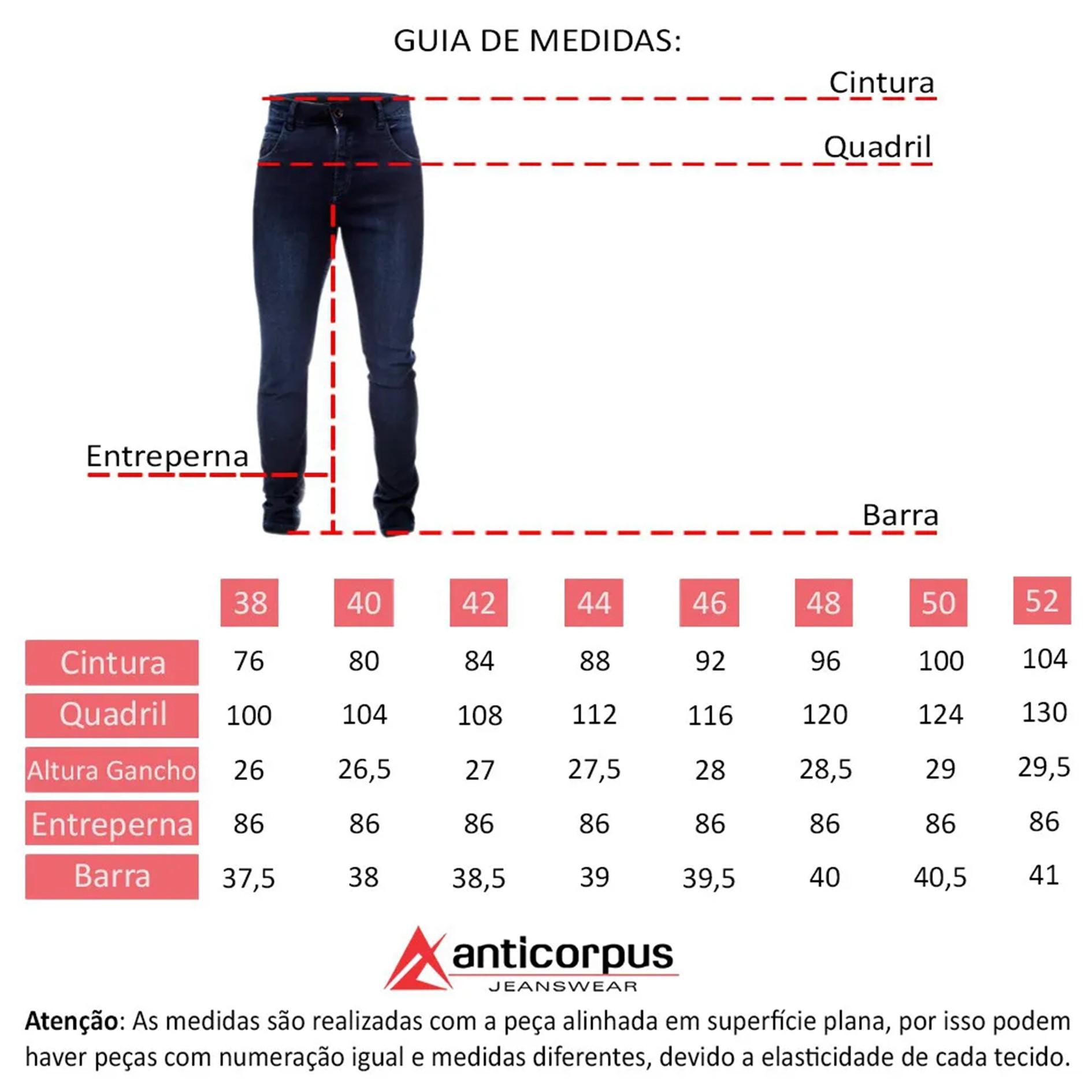 Calça Masculina Anticorpus 22108