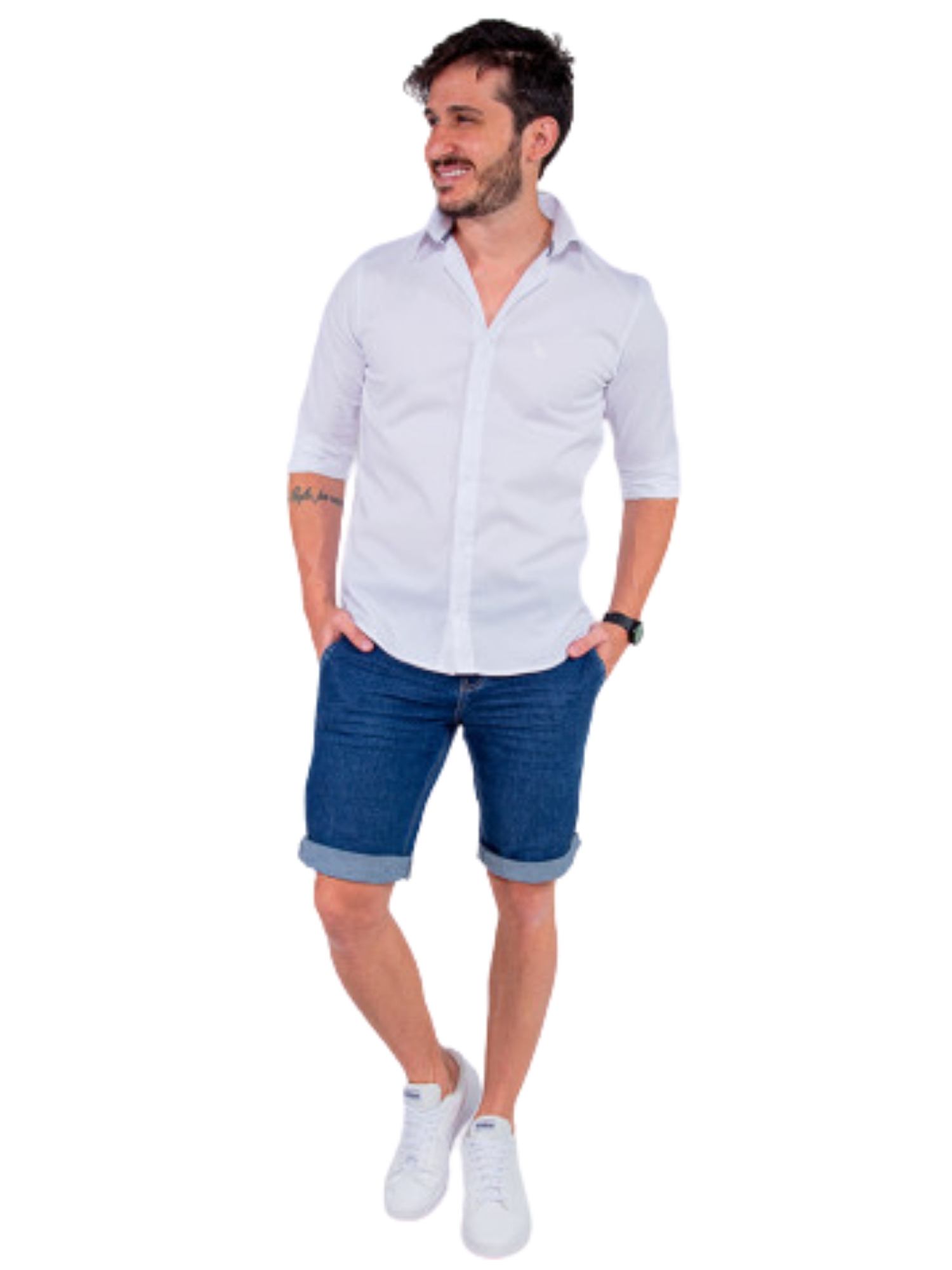Camisa Manga Longa Social Revanche  120307