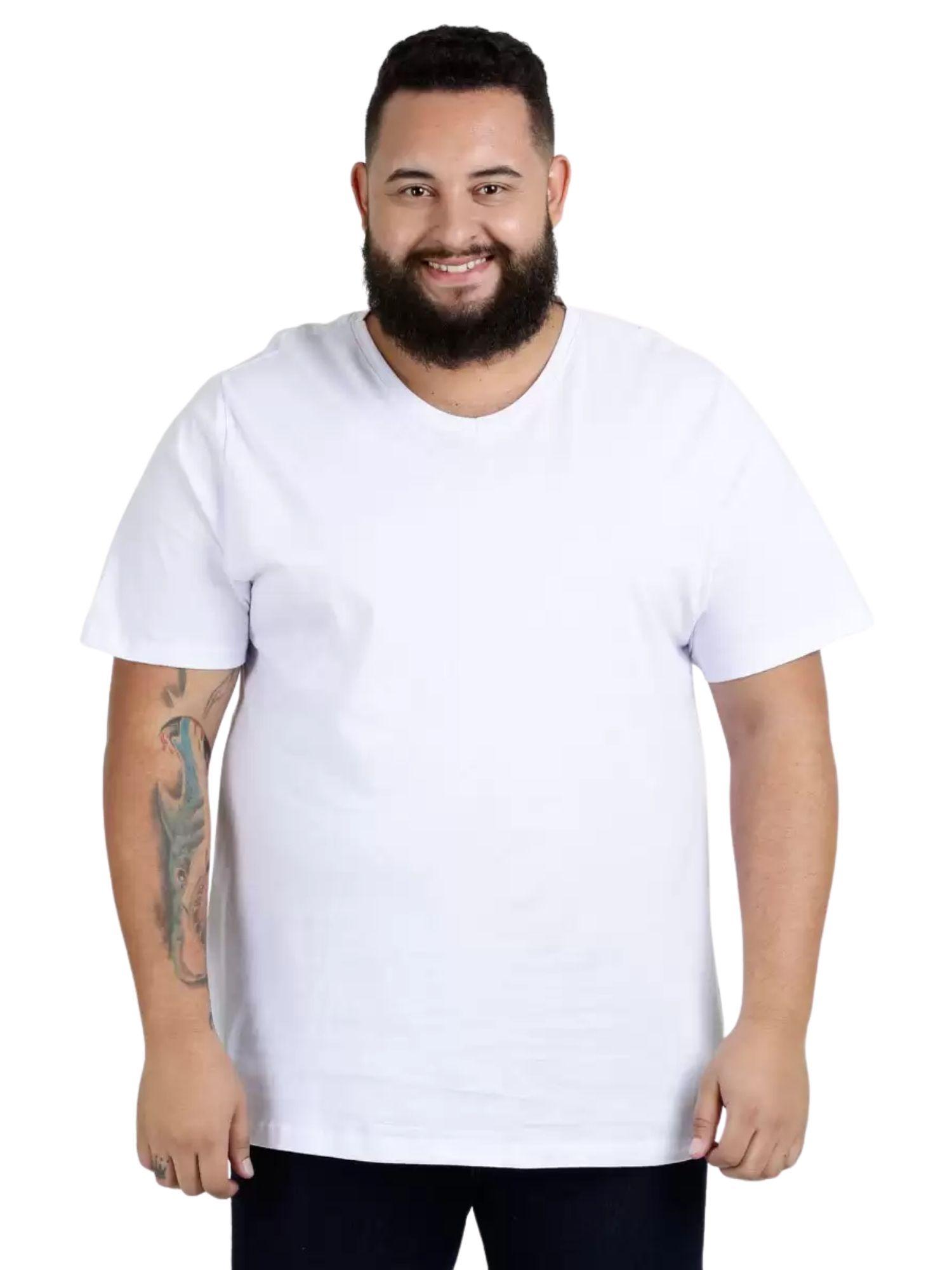 Camiseta Básica Plus Size Kohmar  509