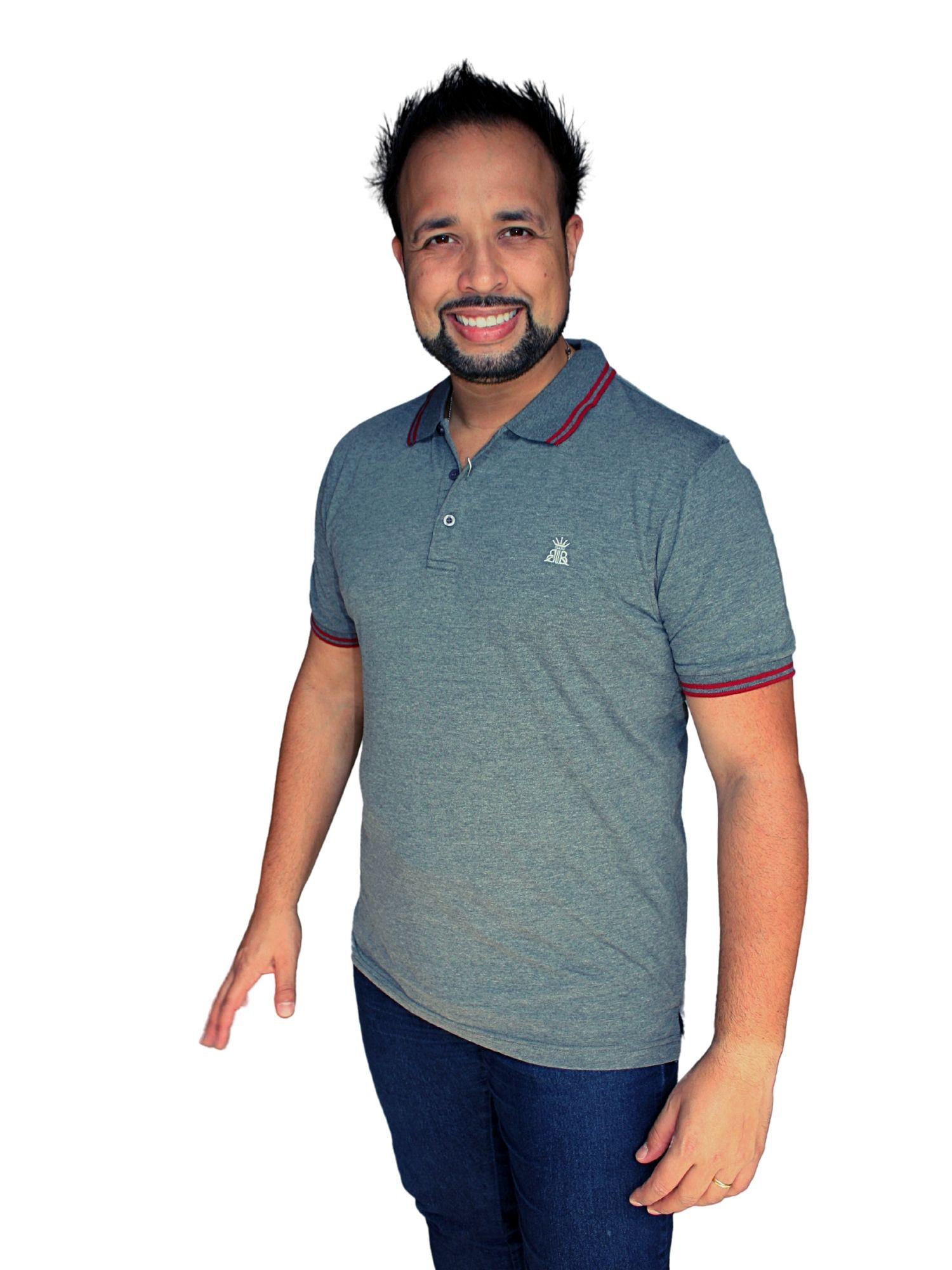 Camiseta Polo Broken Rules Facinelli  120209