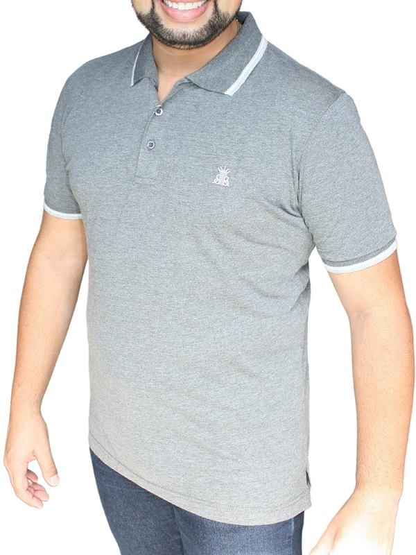 Camiseta Polo Bruken Rules Facinelli  120211