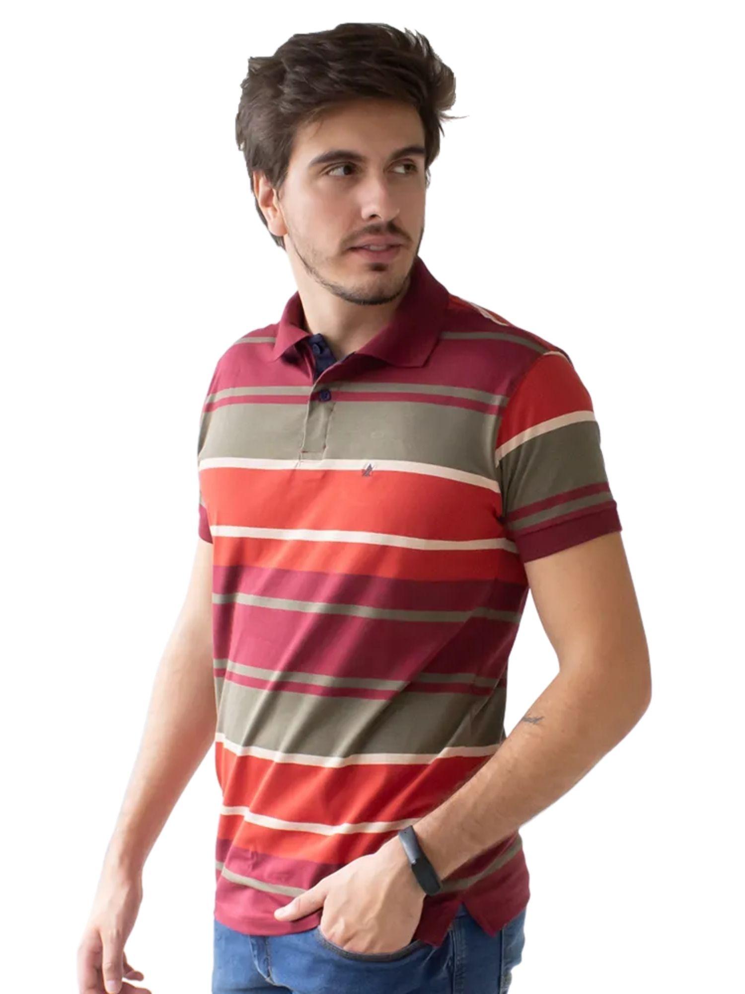 Camiseta Polo Listrada Anticorpus  52225