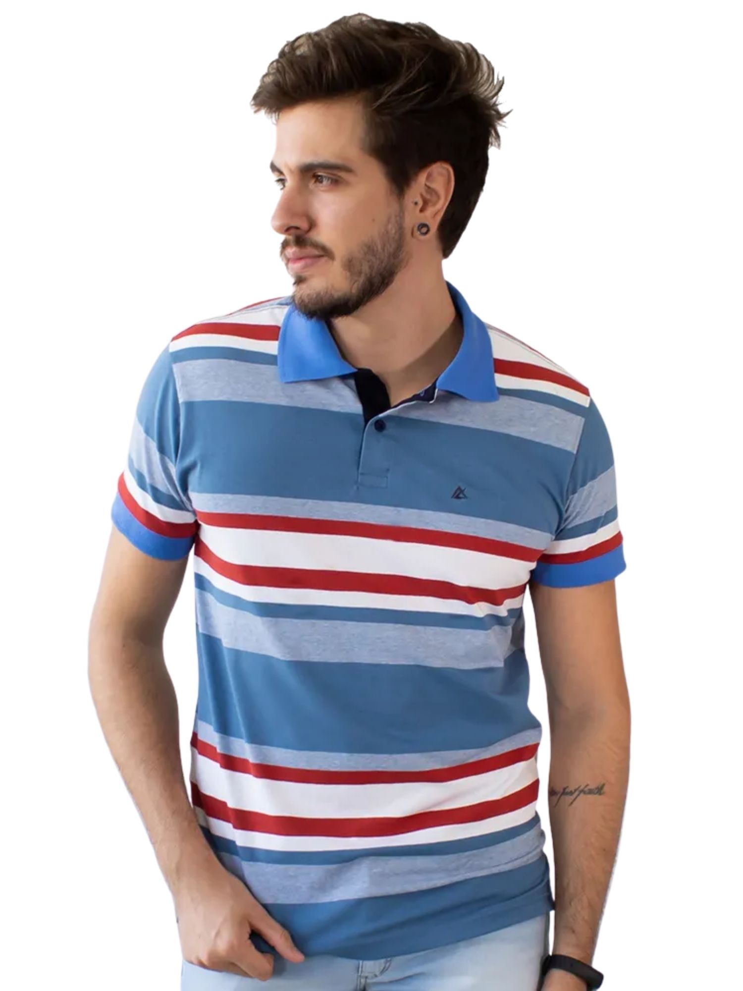 Camiseta Polo Listrada Anticorpus  52227