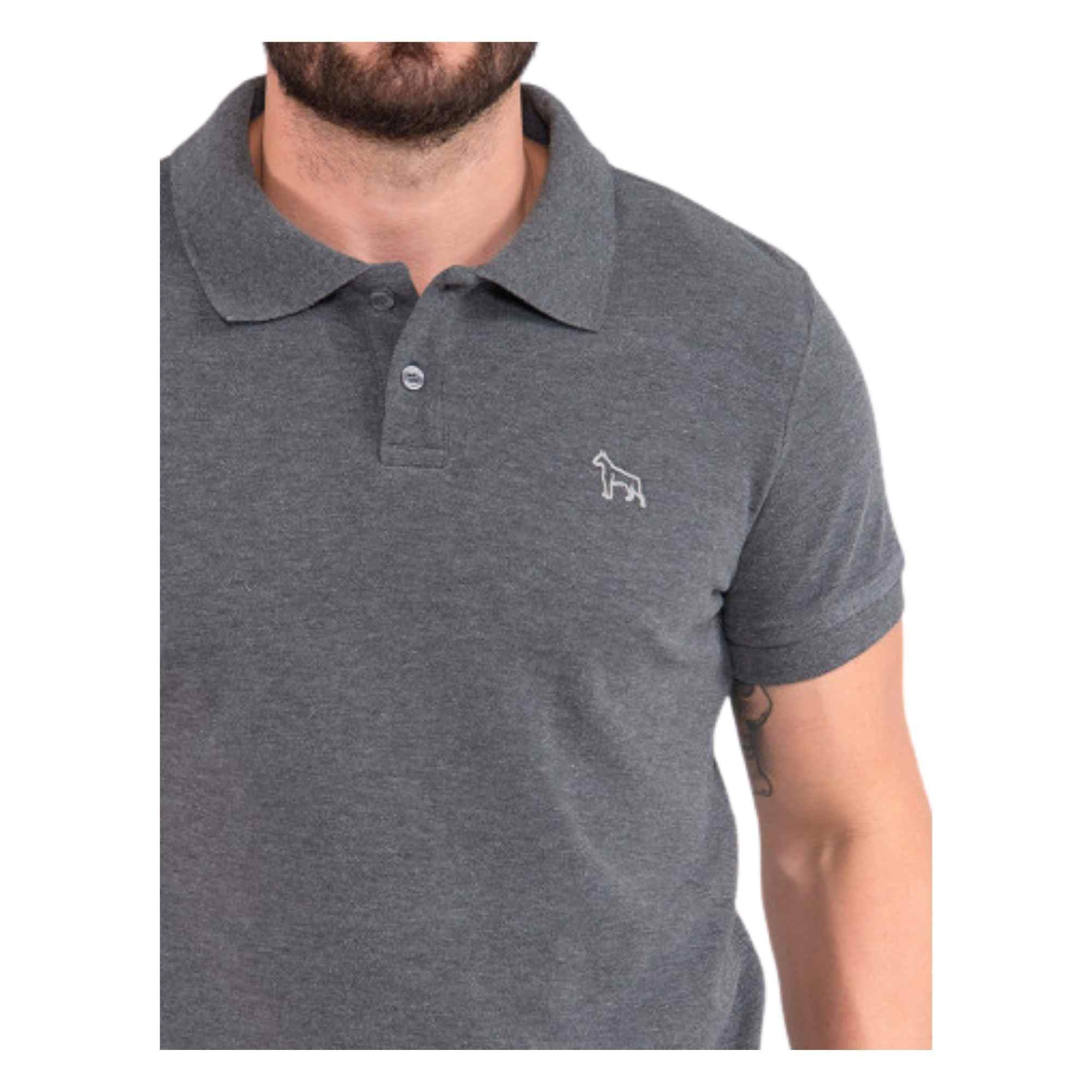Camiseta Revanche Polo Basica 113280 Cachorro
