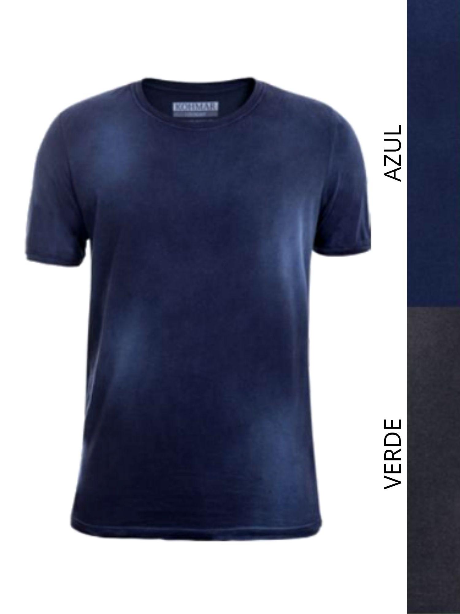 Camiseta Tinturada Kohmar  1124