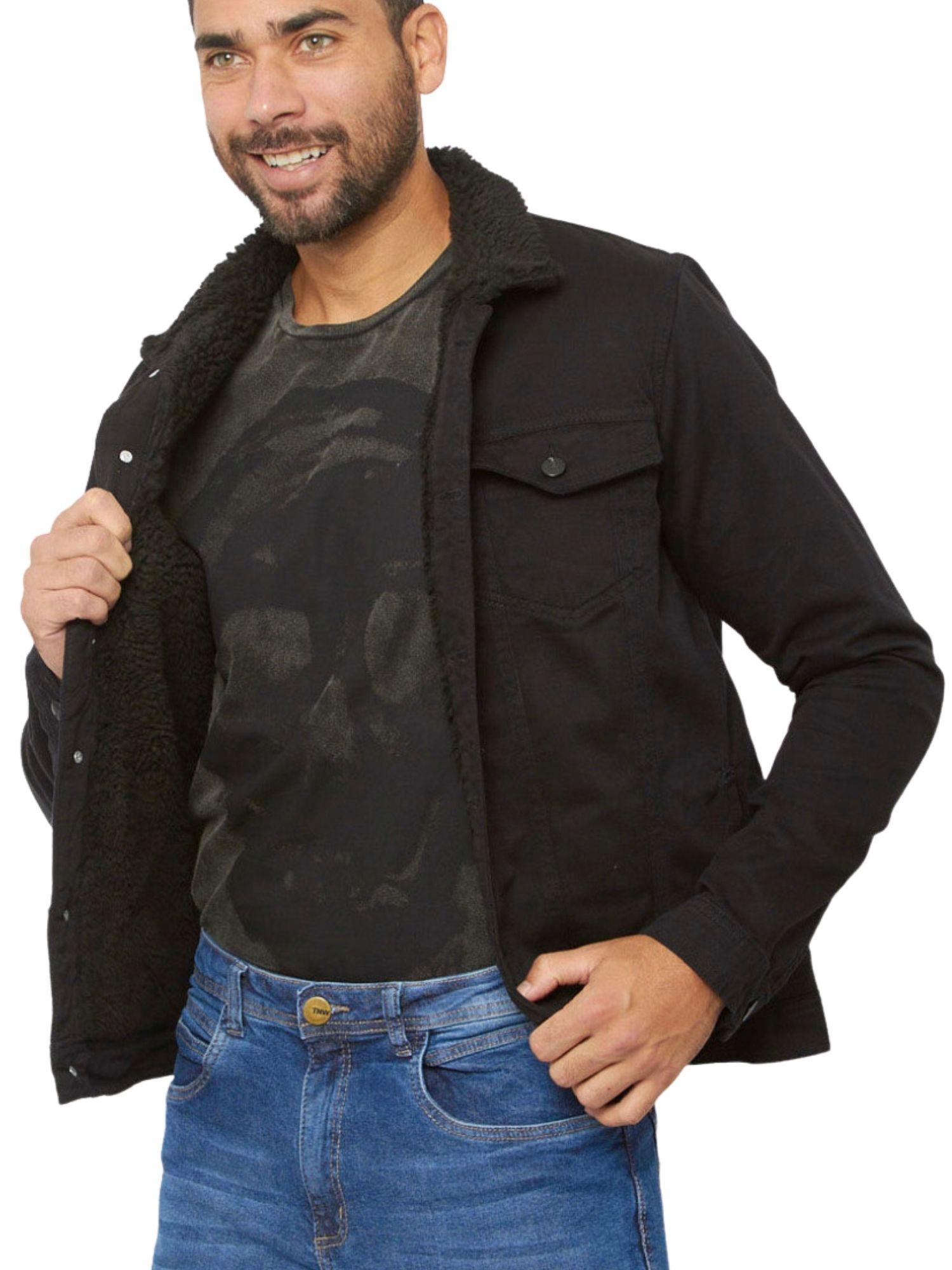 Jaqueta Masculina Jeans Forrada Tnw Jeans 51976