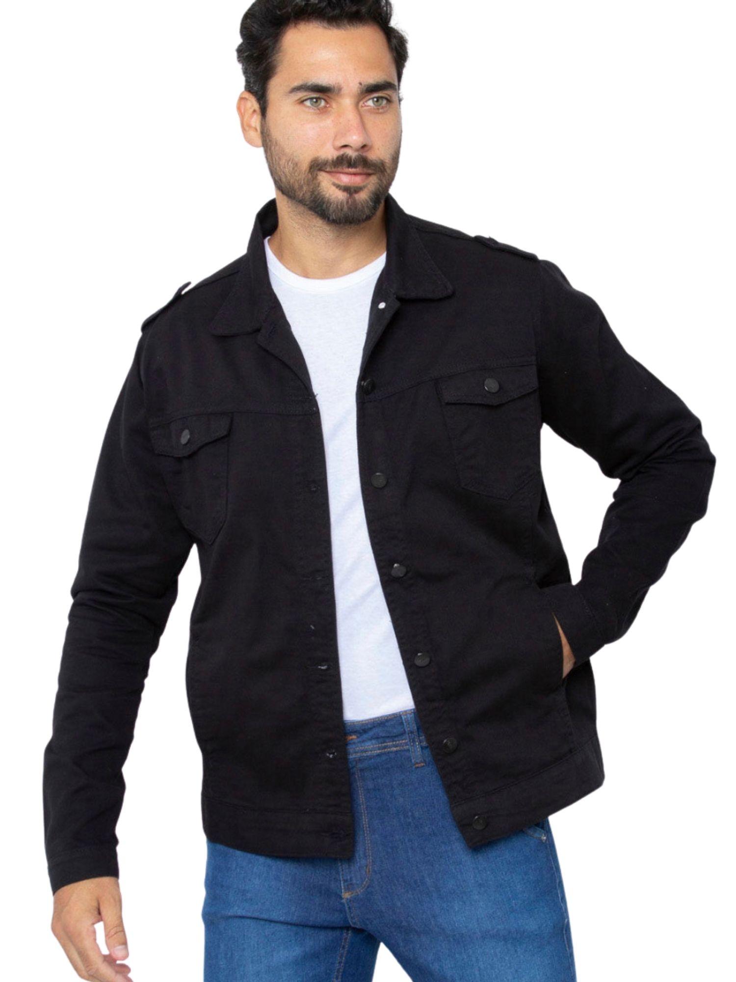 Jaqueta Masculina Jeans Tnw Jeans 51978