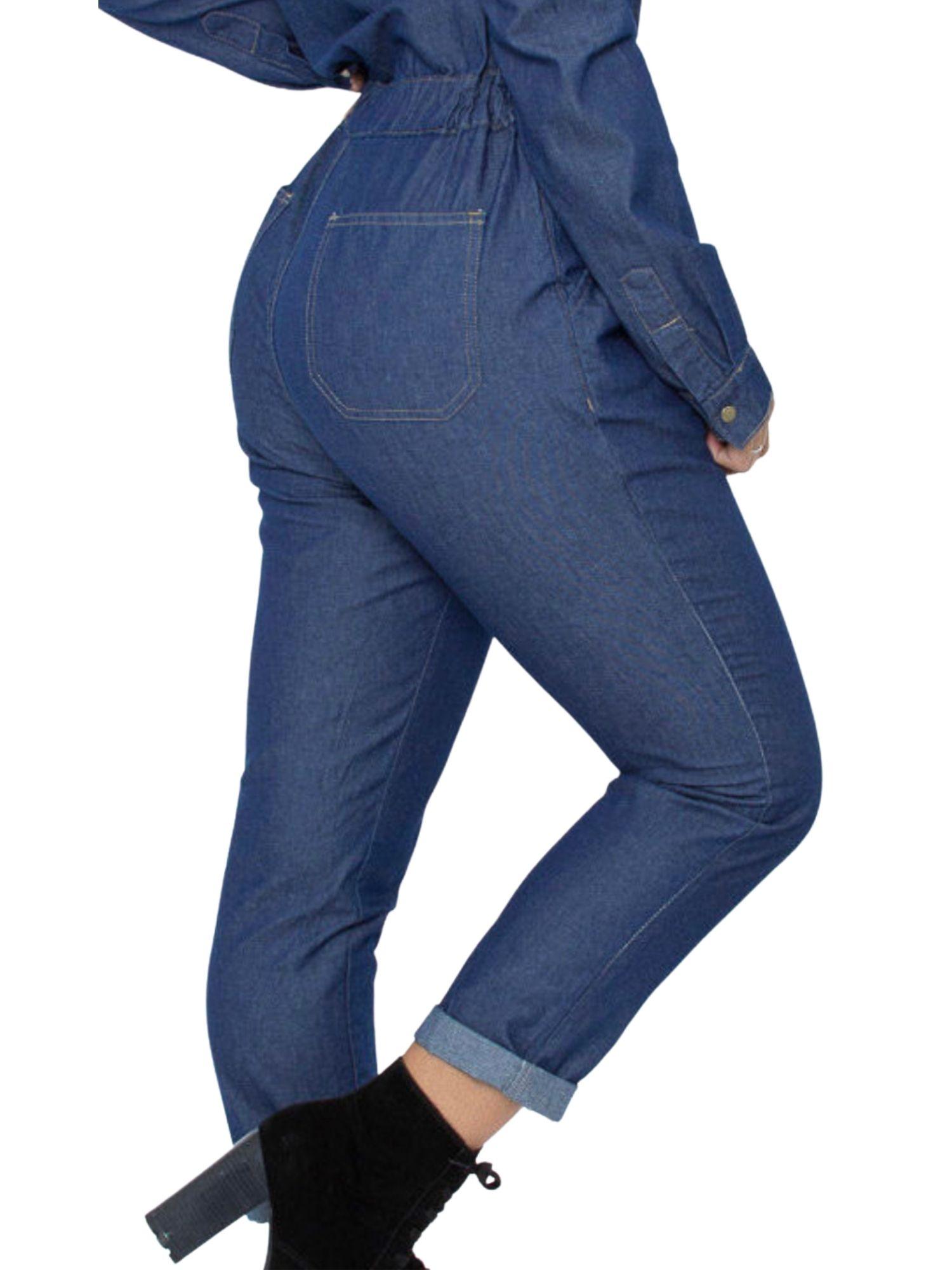 Macacão Jeans Tnw Jeans 43403