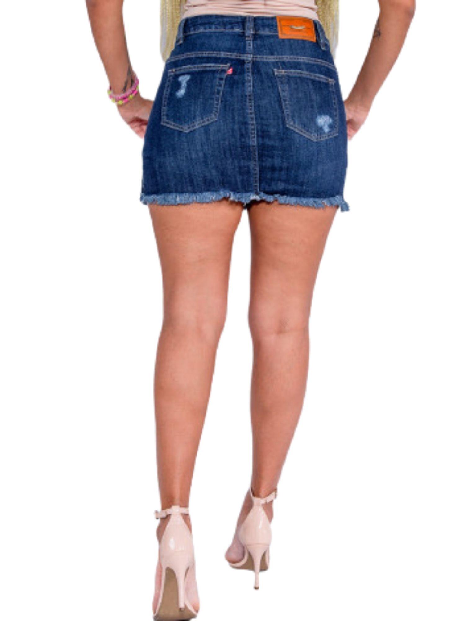 Saia Shorts Cós Alto Revanche  72836