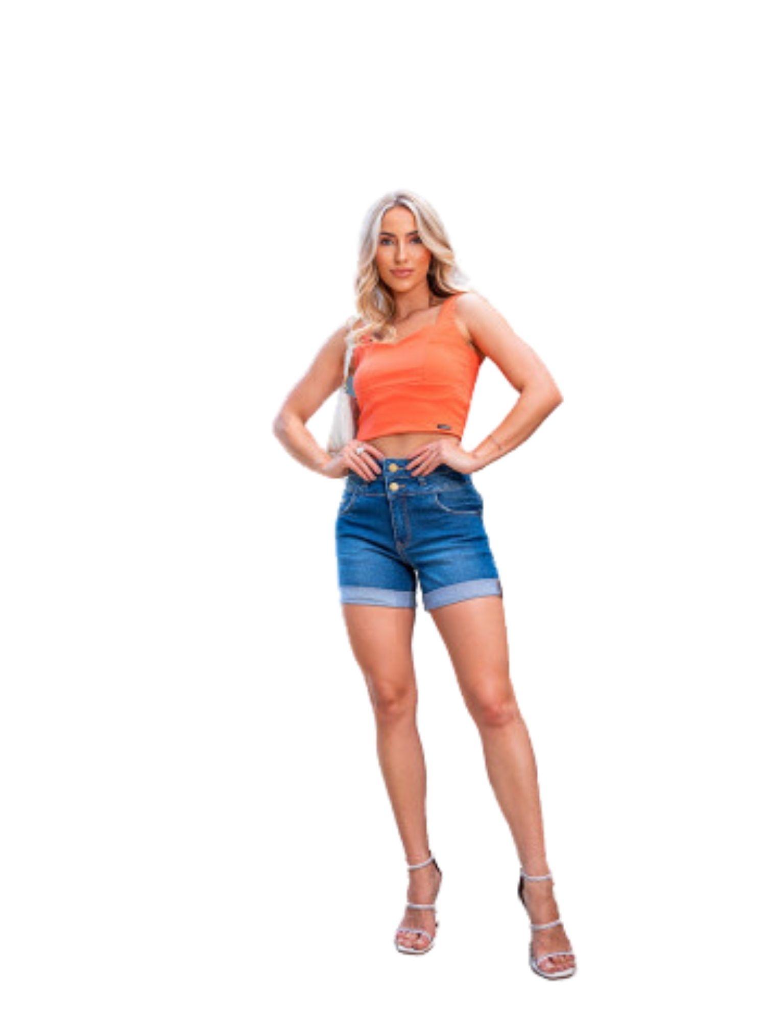 Shorts Cós Duplo e Barra Dobrada Revanche  35201