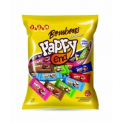 BOMBOM HAPPY END SORTIDOS PACOTE - 400G