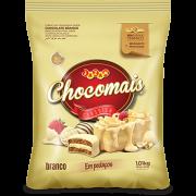 CHOCOMAIS BRANCO EM PEDAÇOS - 1,01KG