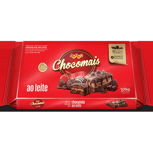 CHOCOMAIS AO LEITE BAR 1,01KG