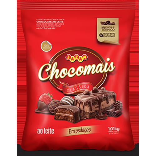 CHOCOMAIS AO LEITE PED 1,01KG
