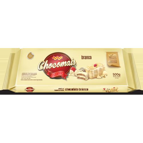 CHOCOMAIS BRANCO BAR 500G