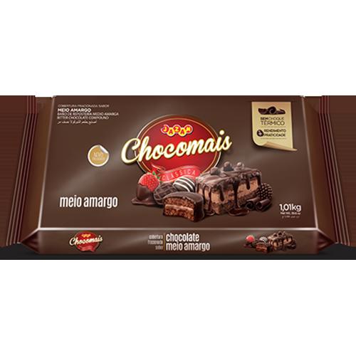 CHOCOMAIS MEIO AMARGO BAR 1,01KG