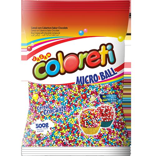 COLORETI MICROBALL CORES MISTO 500G