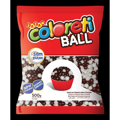 COLORETI MINI BALL MISTO 500G